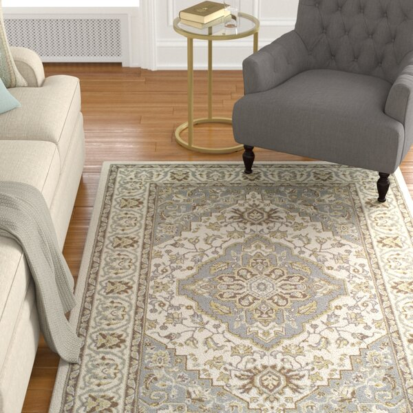 Vassar Olive Green/Gray Area Rug by Astoria Grand