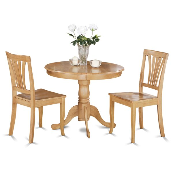 Ranshaw 3 Piece Bistro Set by Alcott Hill