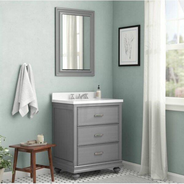 Vaughn 30 Bathroom Vanity Set with Mirror by Alcott Hill