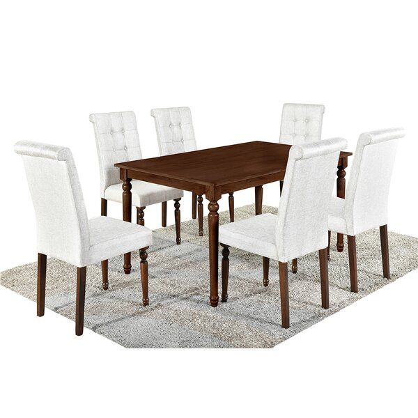 Nuno 7 Piece Counter Height Dining Set by Canora Grey Canora Grey