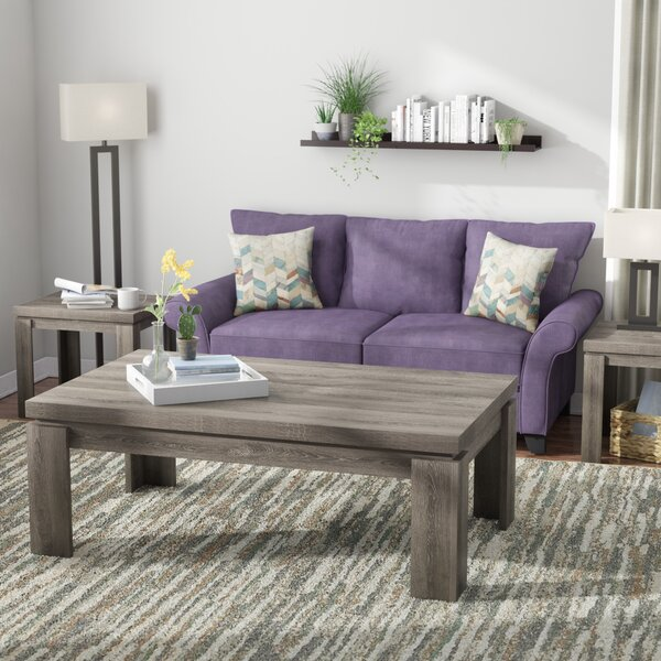 Lachlan 3 Piece Coffee Table Set By Andover Mills