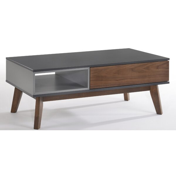 Wrought Studio Wood Top Coffee Tables