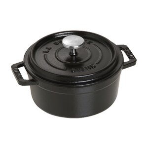 4 Qt. Cast Iron Round Dutch Oven with Lid