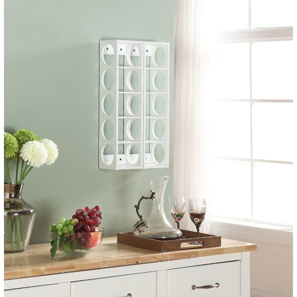Rutherford 5 Bottle Tabletop Wine Rack (Set of 2) by Proman Products