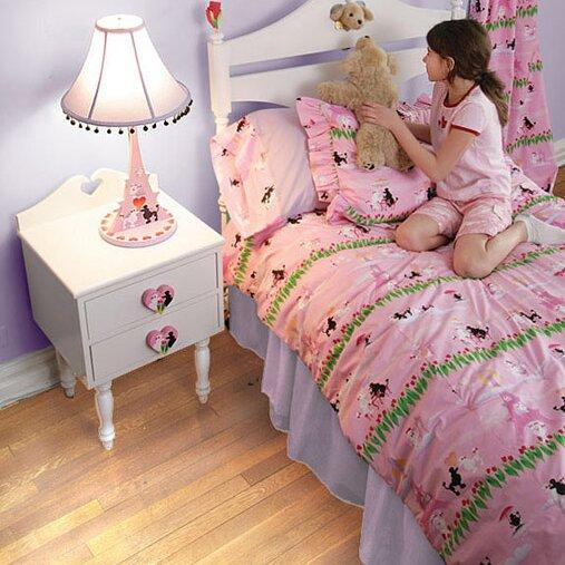 poodles in paris bedding collection - Paris Bedding