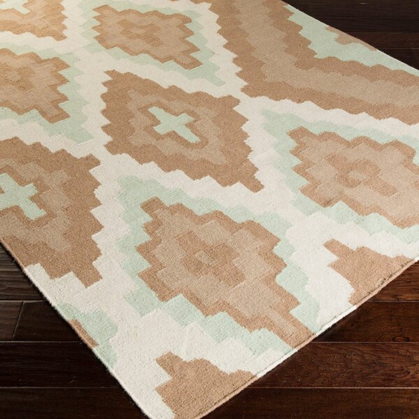 Alameda Hand woven Brown/Ivory Area Rug by Beth Lacefield for Surya