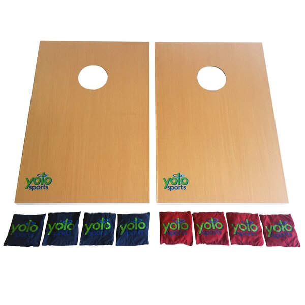 10 Piece Cornhole Set by Yolo Sports