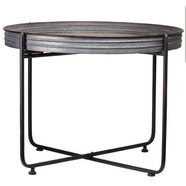 Rosann Metal Round Coffee Table by Gracie Oaks