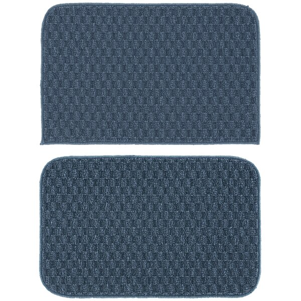 Tesha 2 Piece Kitchen Mat Set