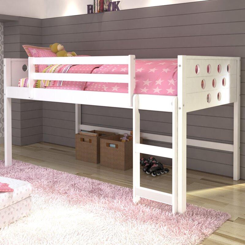 catherine circles twin loft bed