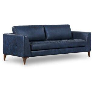 Swinney 2 Piece Genuine Leather Living Room Set by Corrigan Studio®