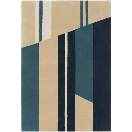 Lina Hand-Tufted Modern Area Rug by Elle Decor