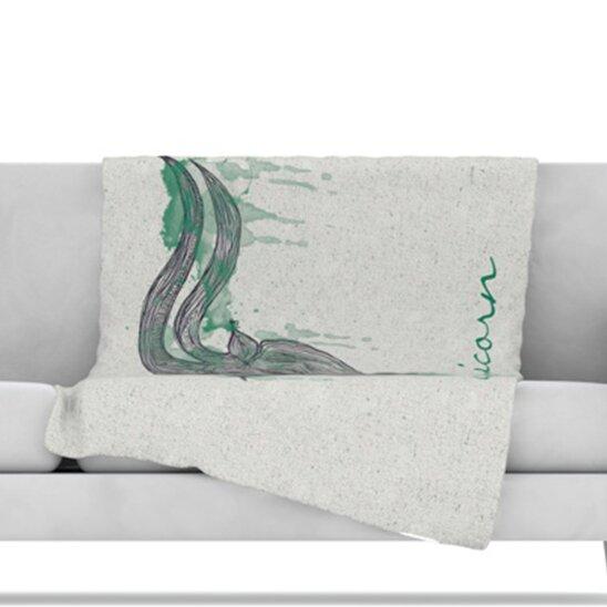 Capricorn Throw Blanket by KESS InHouse
