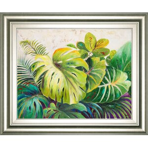 'Mystic Garden II' by Patricia Pinto Framed Painting Print by Classy Art Wholesalers