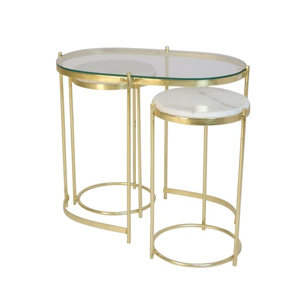 Michell Frame Nesting Tables By Everly Quinn