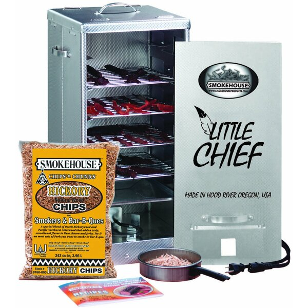Little Chief Front Load Electric Smoker by Smokehouse Products