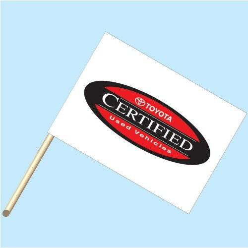 Toyota Cer Use Vehicle Polyester Flag by NeoPlex