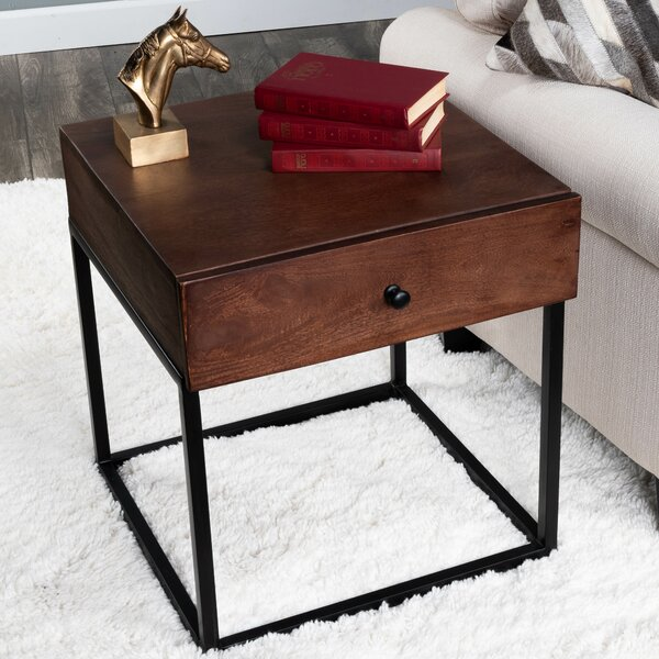 Hutchinson End Table By Union Rustic