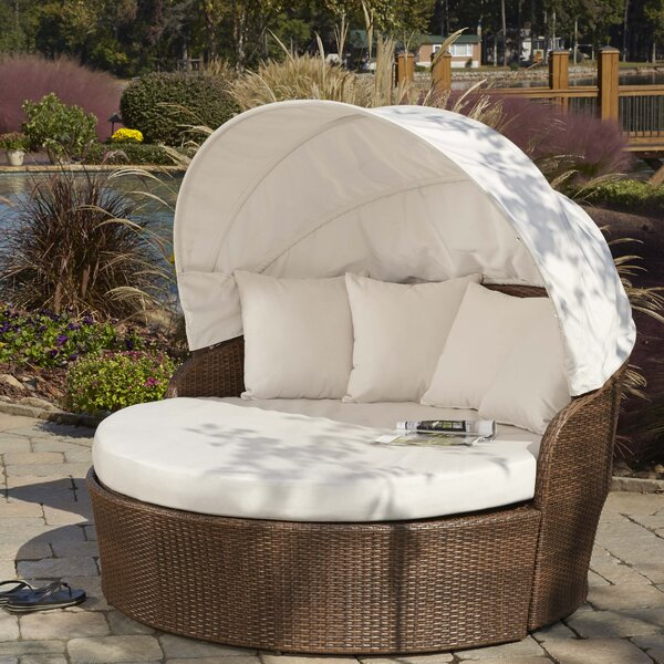 Key Biscayne Patio Daybed with Sunbrella Cushions by Panama Jack Outdoor