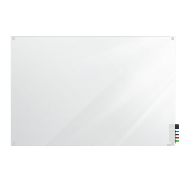Ghent Harmony Glass Whiteboard with Square Corners by Ghent