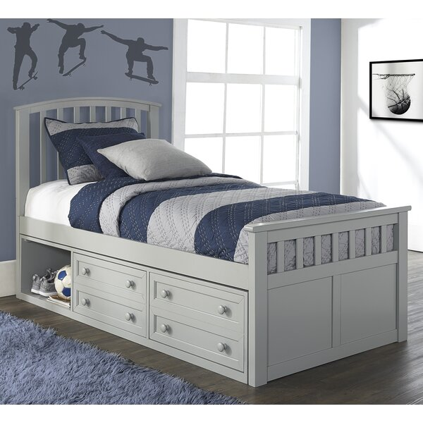 Javin Mates & Captains Bed with Drawers by Harriet Bee