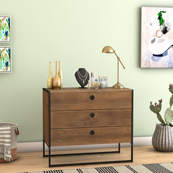 Ibrahim 3 Drawer Chest by Langley Street