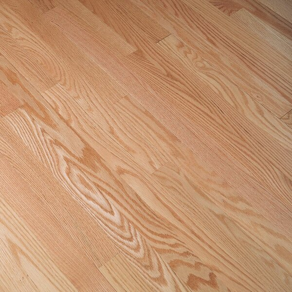 Fulton 2-1/4 Solid Red Oak Hardwood Flooring in Low Glossy Natural by Bruce Flooring