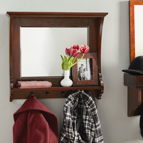Belmeade Entry Mirror in Espresso by Wildon Home ®