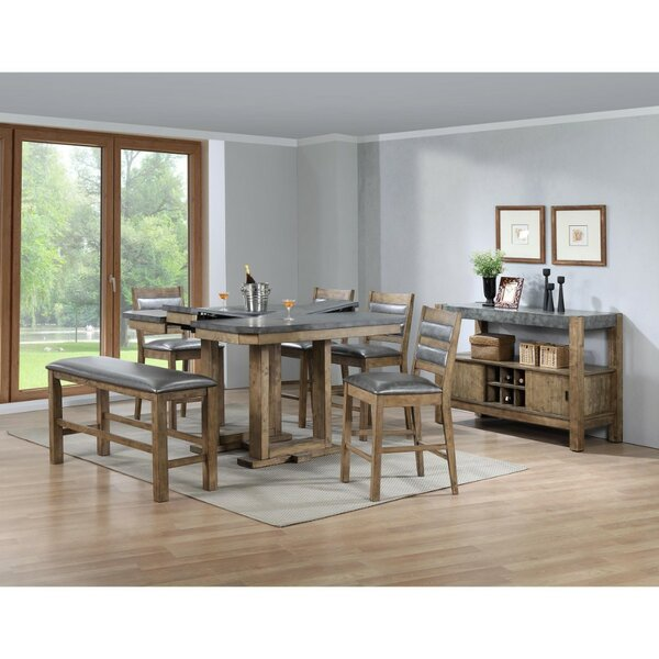 Agawam Counter Height Dining Table by Millwood Pines