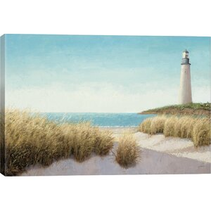 'Lighthouse' Print by East Urban Home