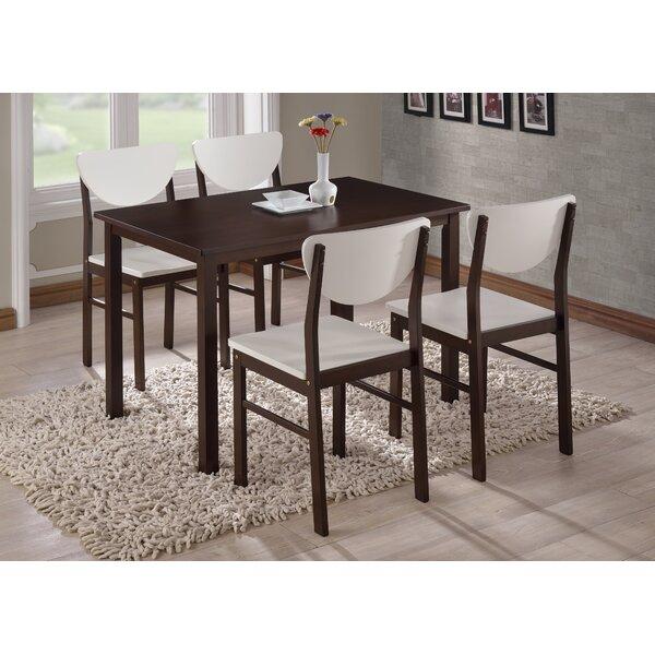 Alesha Wood Leg Dining Table by Zipcode Design