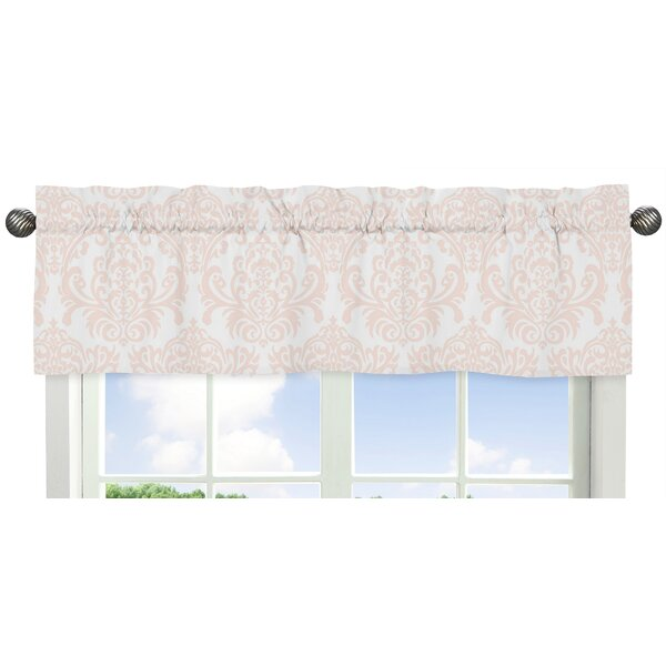 Amelia Damask 54 Window Valance by Sweet Jojo Designs