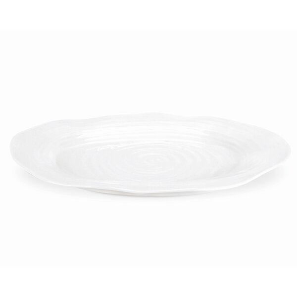 Sophie Conran White Oval Platter by Portmeirion