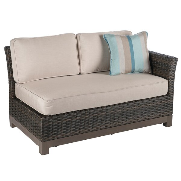 Eibhlin 2 Piece Left/Right Sectional Piece With Cushions by Bayou Breeze