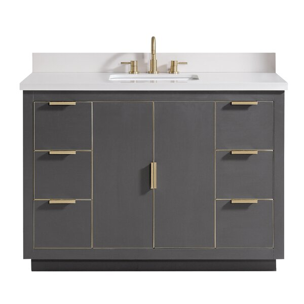 Finck 48 Single Bathroom Vanity Set by Everly Quinn