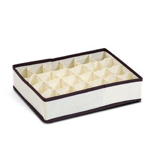 Great Price 24 Compartment Soft Storage Organizer By Winston Porter