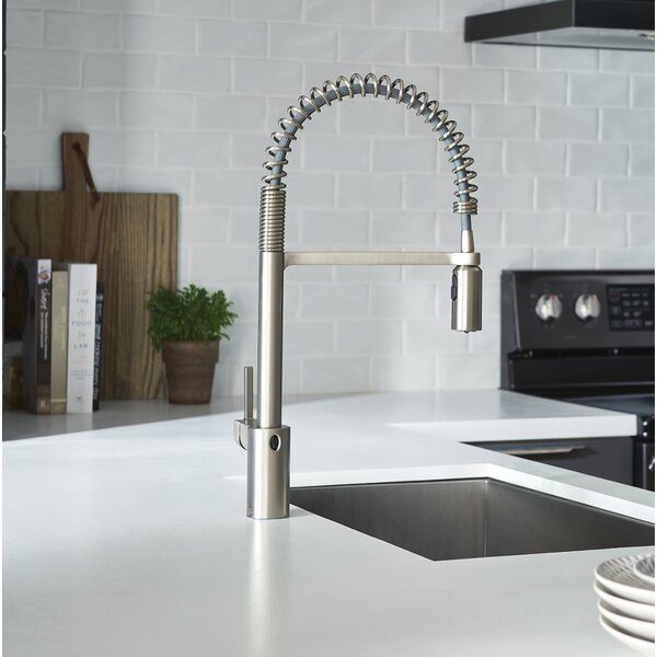 Align Pull Down Touchless Single Handle Kitchen Faucet with MotionSense, PowerClean, and Duralock by Moen