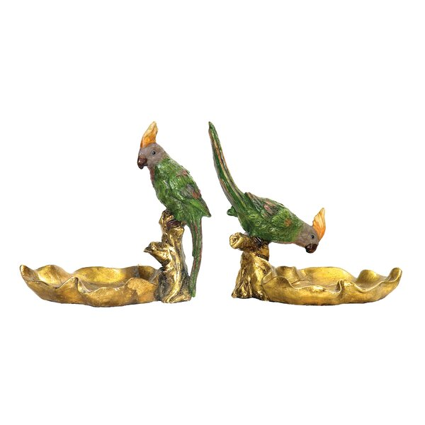 Chelmsford 2 Piece Tropical Dish Figurine Set by Bay Isle Home