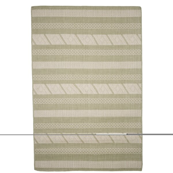Geen/Beige Indoor/Outdoor Area Rug by Plymouth Home