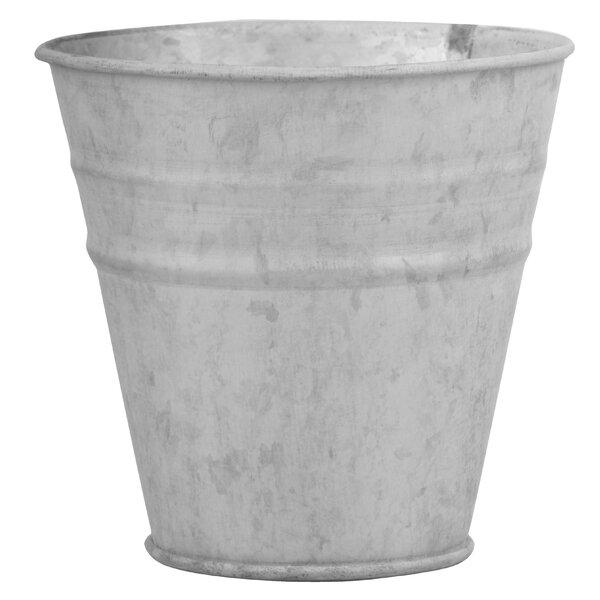 Zinc Pot Planter (Set of 6) by EsschertDesign