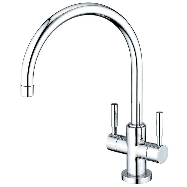 Concord Double Handle Kitchen Faucet by Kingston Brass Kingston Brass