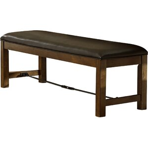 Alegre Wood Upholstered Bench by Trent Austin Design