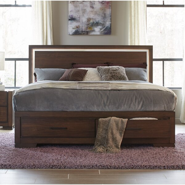 Kimbrough Queen Storage Platform Bed by Wrought Studio