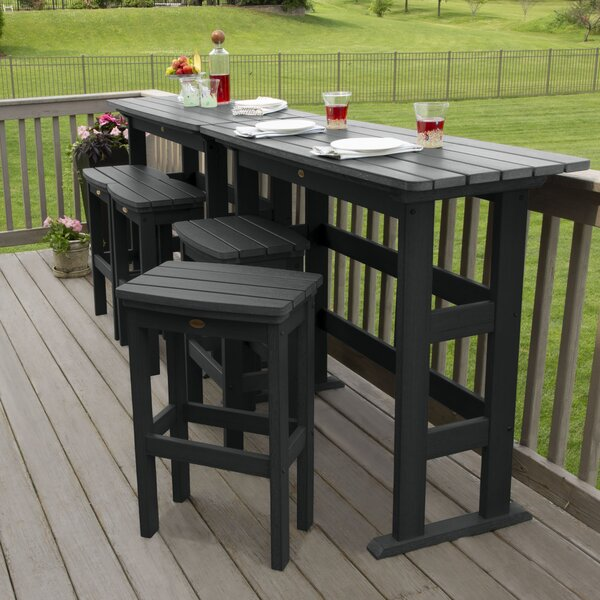 Regan 6 Piece Bar Height Dining Set by Alcott Hill