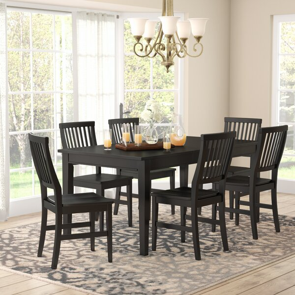 Ferryhill 7 Piece Dining Set by Three Posts