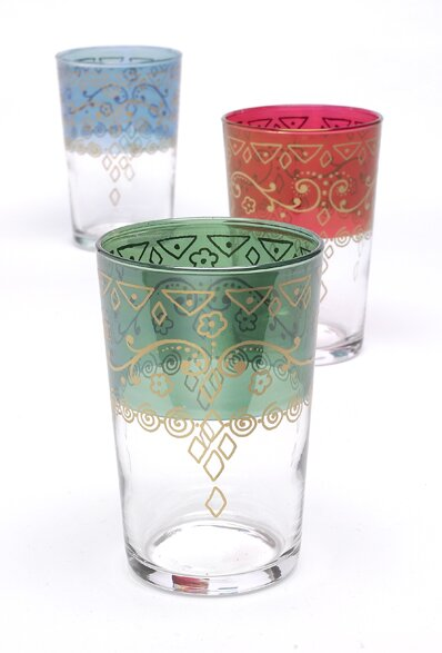 Moroccan Marrakech Tea Glass (Set of 6) by Casablanca Market