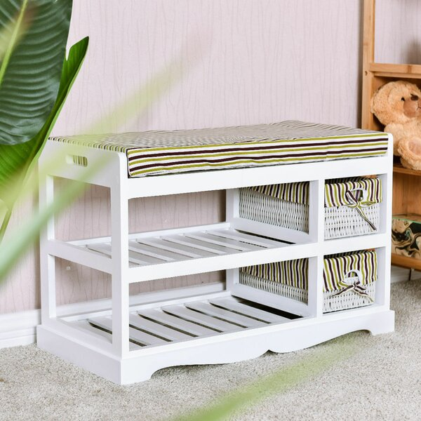Entryway Shoe Storage Bench By Winston Porter