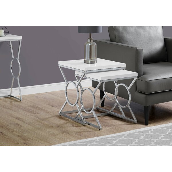 Hartfo 2 Piece Nesting Tables By Mercer41