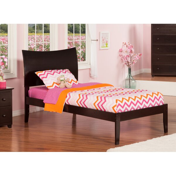 Soho Extra Long Twin Sleigh Bed with Open Foot by Atlantic Furniture