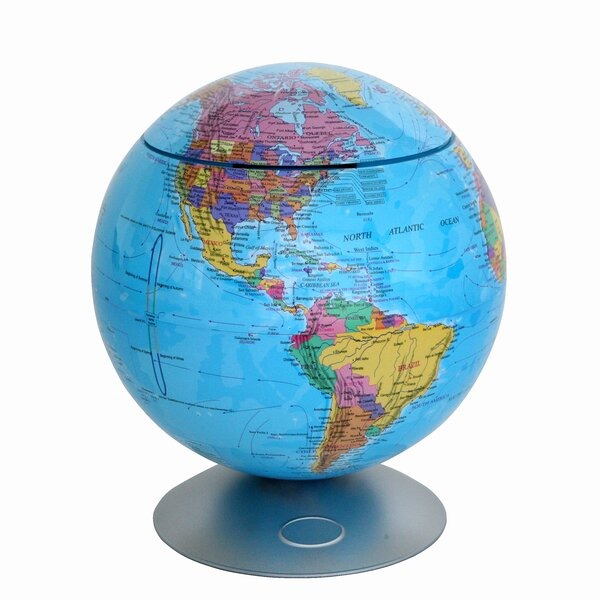 Sensor Activated 360° Globe Hidden Storage Globe by iTouchless